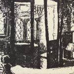 'Bedroom' 2008, etching
