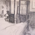 'Bedroom study i' 2007, pencil