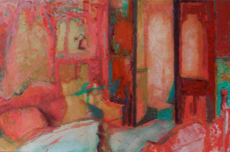 'Brink' 2006, oil on gesso