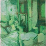 'L'Assommoir', 2006, pastel drawing