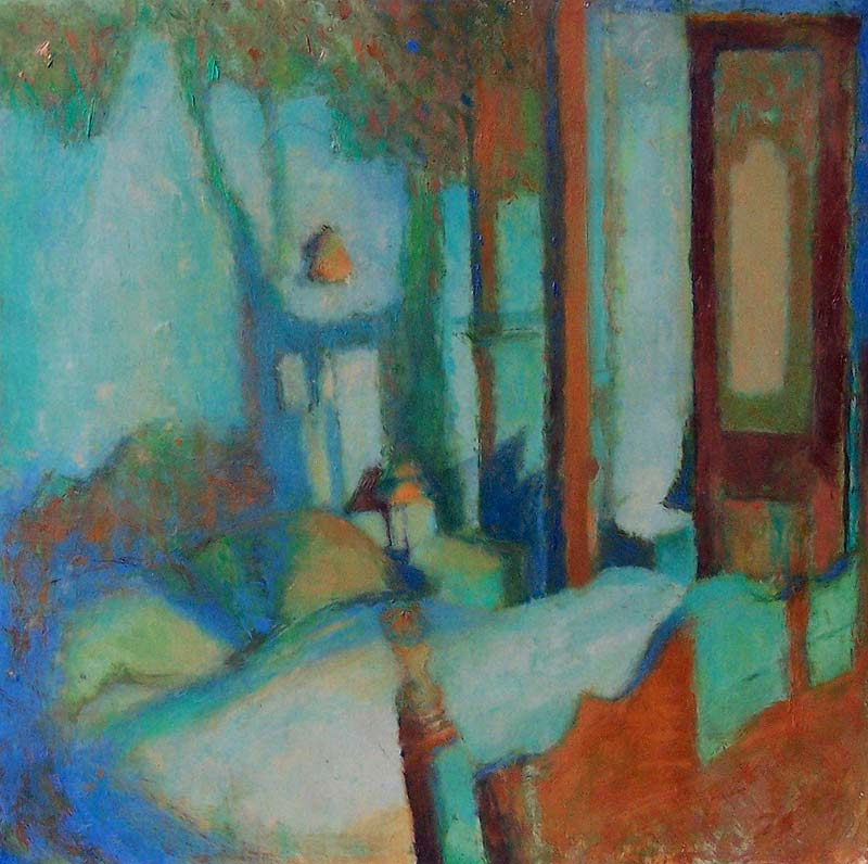 'Intimacy' 2006, oil on gesso