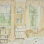 'Philip's Room', 2010, watercolour